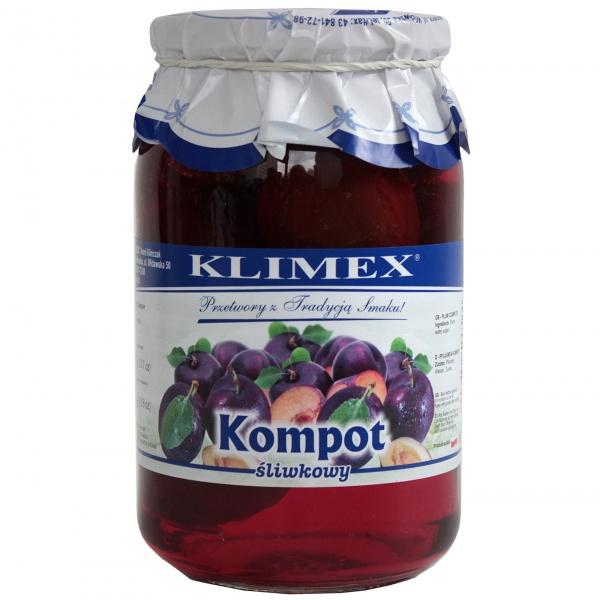 Kompot śliwkowy Klimex
