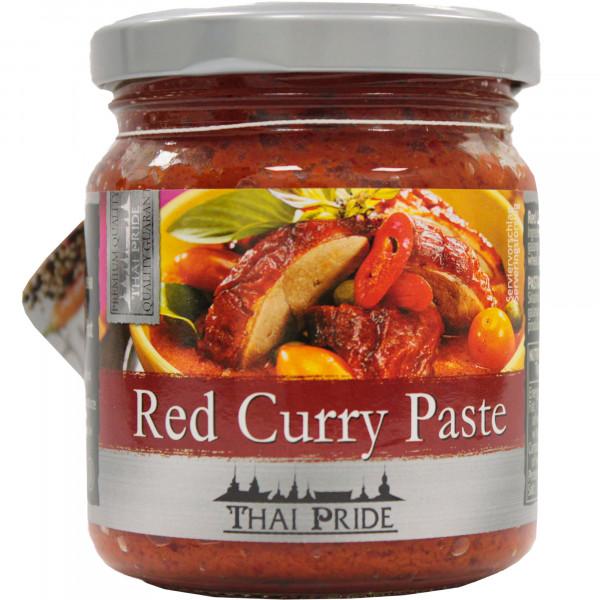 Thai pasta curry czerwona