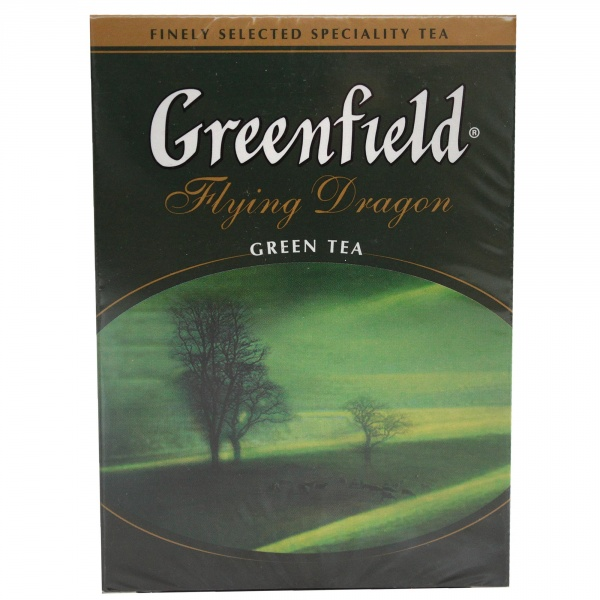 Herbata liściasta zielona flying dragon.
