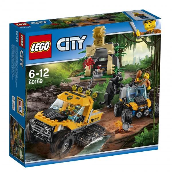 Klocki LEGO City Misja półgąsienicowej terenówki 60159