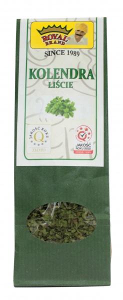 Kolendra liście royal brand