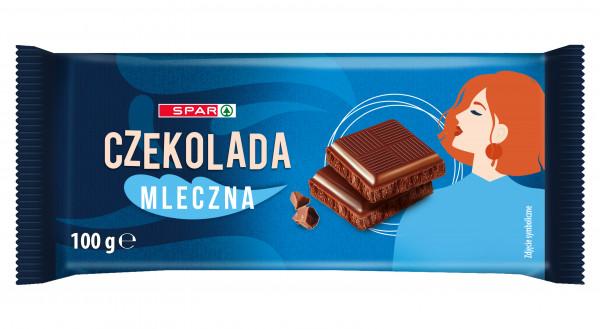 Spar czekolada mleczna