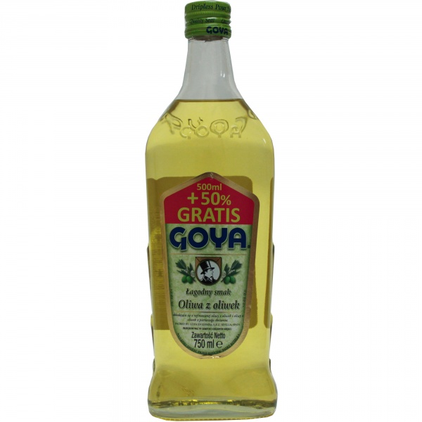 Oliwa z oliwek łagodny smak goya