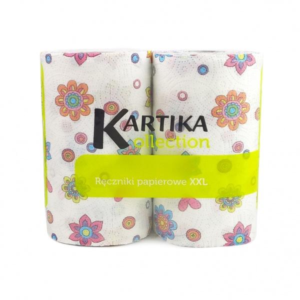Ręcznik kartika deco spring 2 rolki