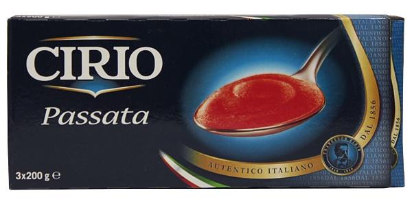 Przecier pomidorowy cirio 3x200g