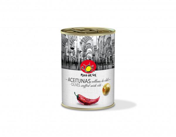 Oliwki nadziewane chili plaza del sol
