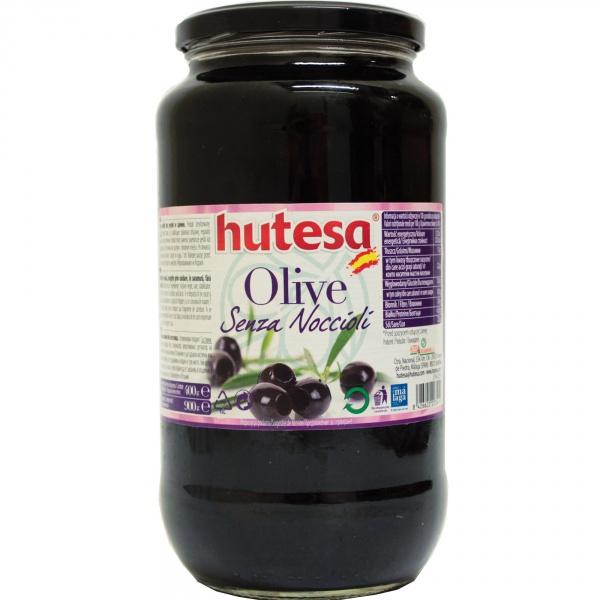 Oliwki czarne bez pestek Hutesa