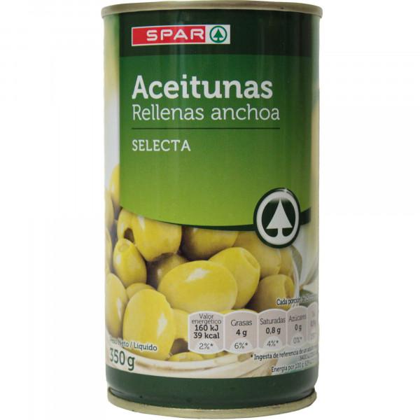 Spar oliwki nadziewane pastą anchois