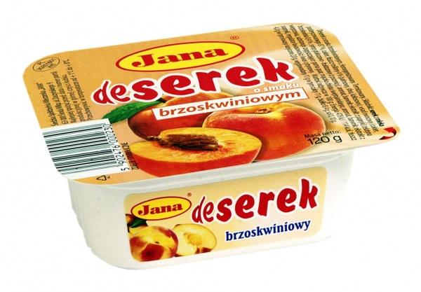 DeSerek o smaku brzoskwiniowym