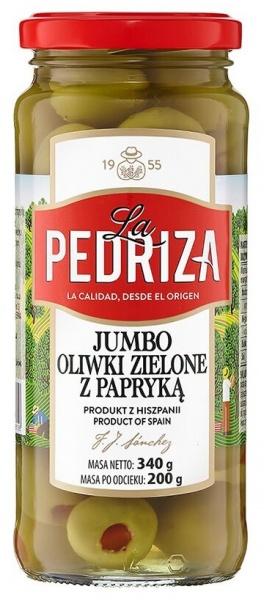 Oliwki La Pedriza  jumbo z papryką
