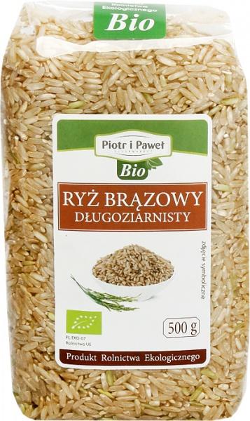 Ryż brązowy długoziarnisty bio