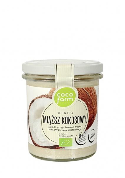 Miąższ kokosowy bio