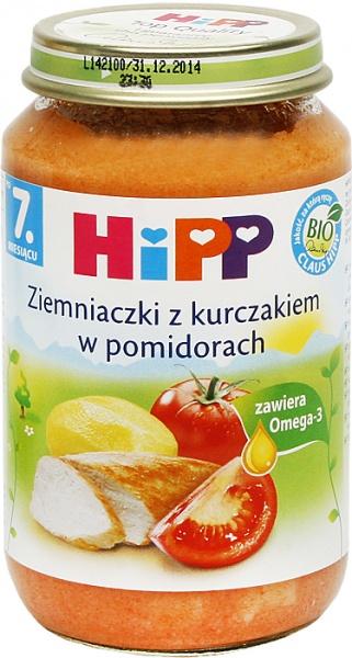 Danie Hipp    ziemniaki z kurczakiem w pomidorach