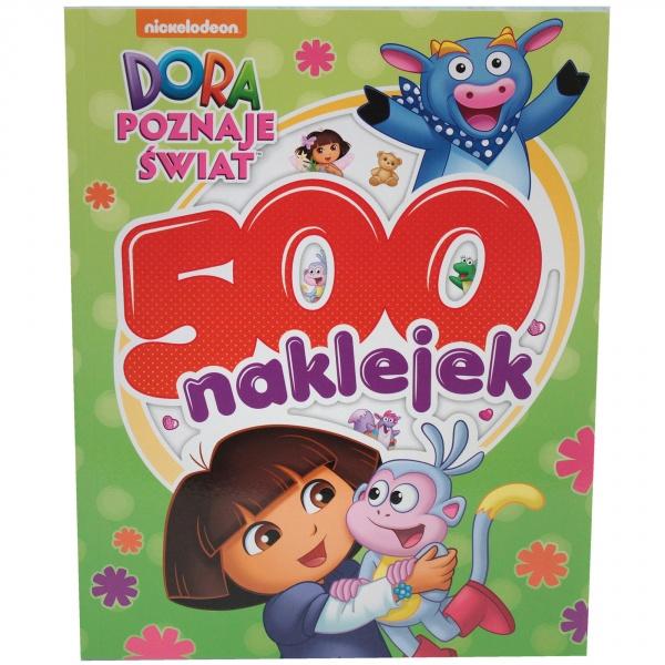 """""""Dora poznaje świat"""" - 500 naklejek"""