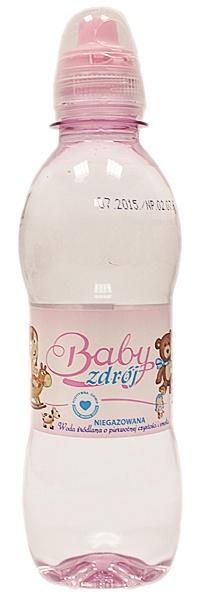 Woda Baby Zdrój źródlana niegazowana Girl