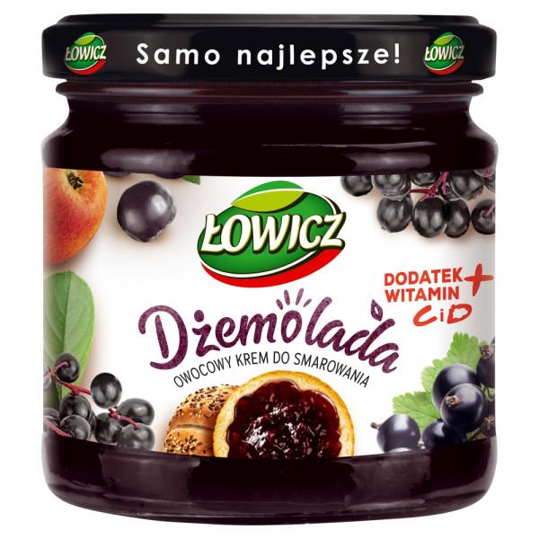 Dżemolada Łowicz owocowy krem do smarowania czarny