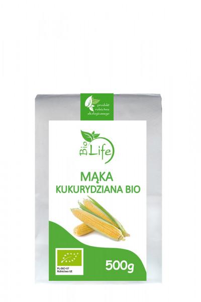 Mąka kukurydziana bio Biolife