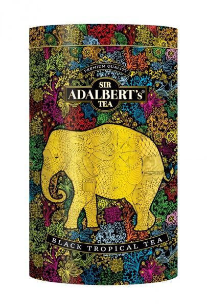 Herbata Adalbert's Black Tropical Tea liściasta