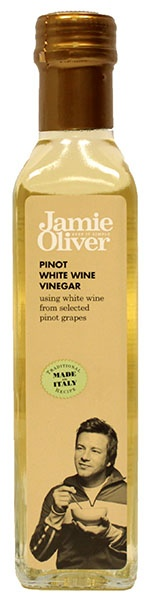 Ocet winny biały z wina pinot jamie oliver
