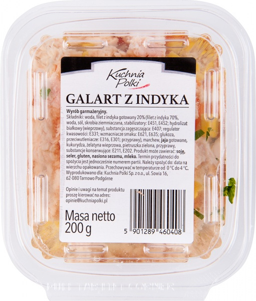 Galart z indyka Kuchnia Polki