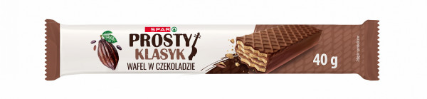 Spar wafel w czekoladzie przekładane kremem kakaowym