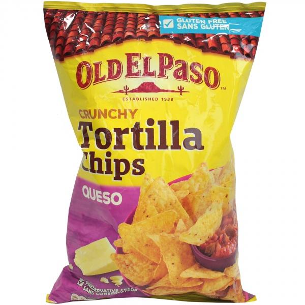 Tortilla chips cheese