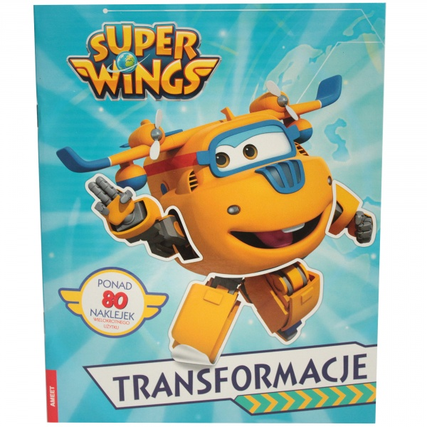 """ Super Wings transformacje """