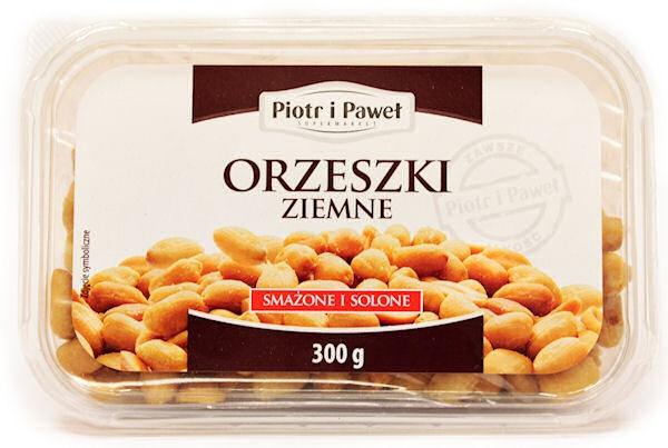 Orzeszki ziemne smażone solone Piotr i Paweł
