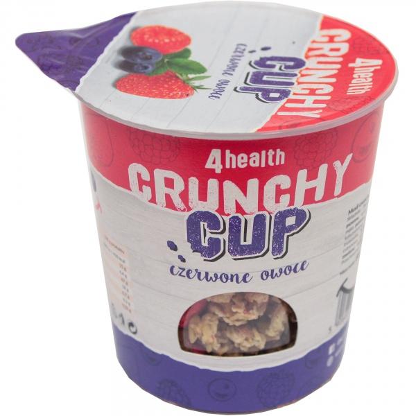 Crunchy cup czerwone owoce