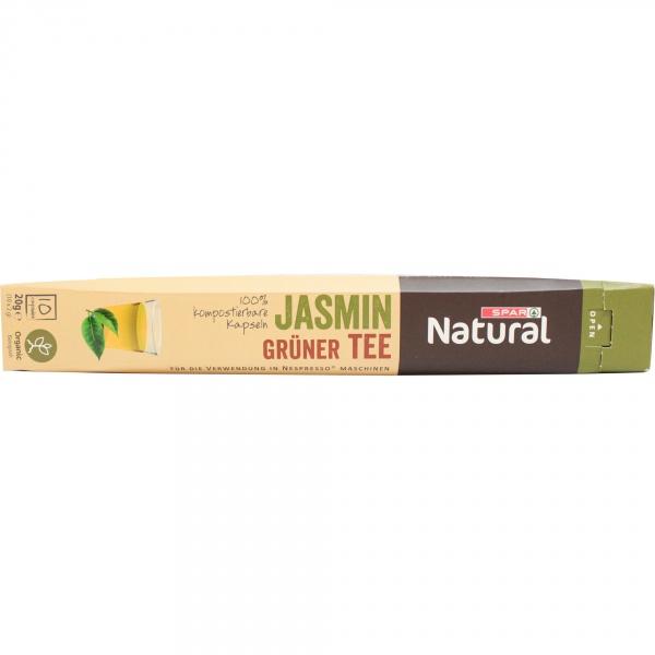 Spar natural herbata zielona jaśminowa organiczna kapsułki