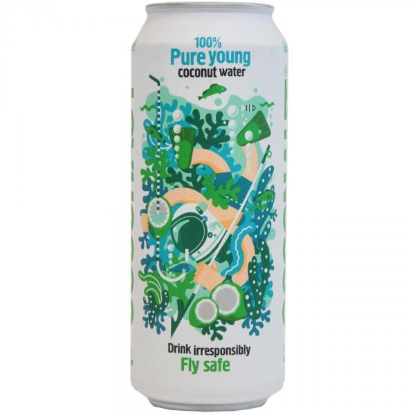 Woda z młodego kokosa 100 %.