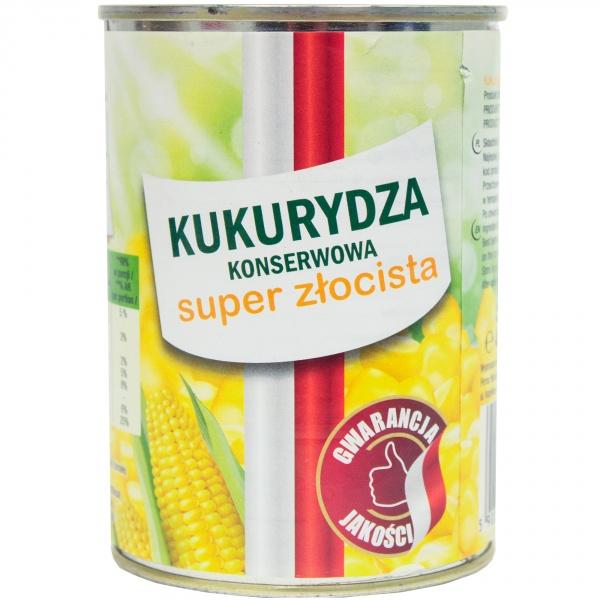 Kukurydza konserwowa super złocista