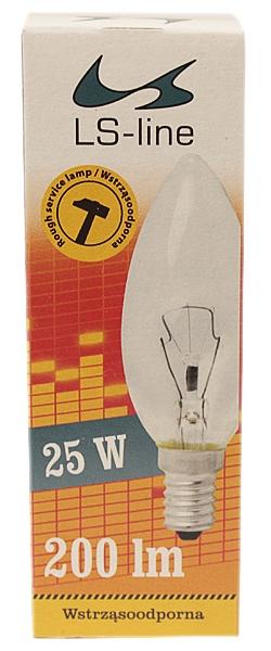 Świetlówka 25w e14 ls-line