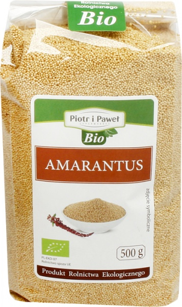 Amarantus bio Piotr i Paweł