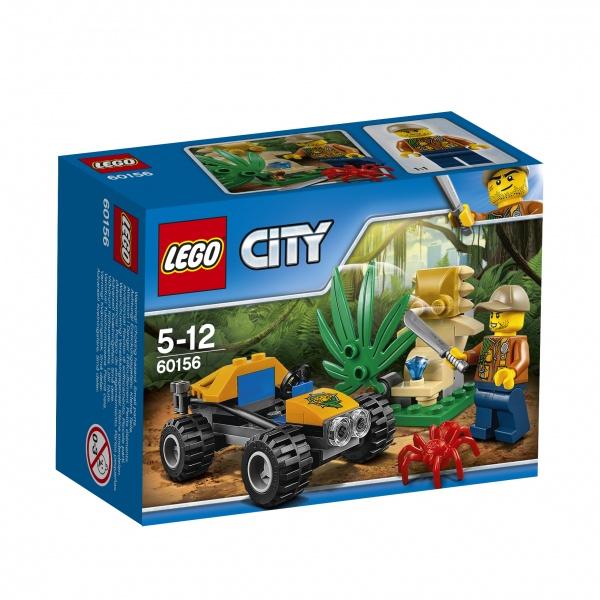 Lego dżunglowy łazik.
