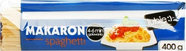 Makaron spaghetti - Lubię :)