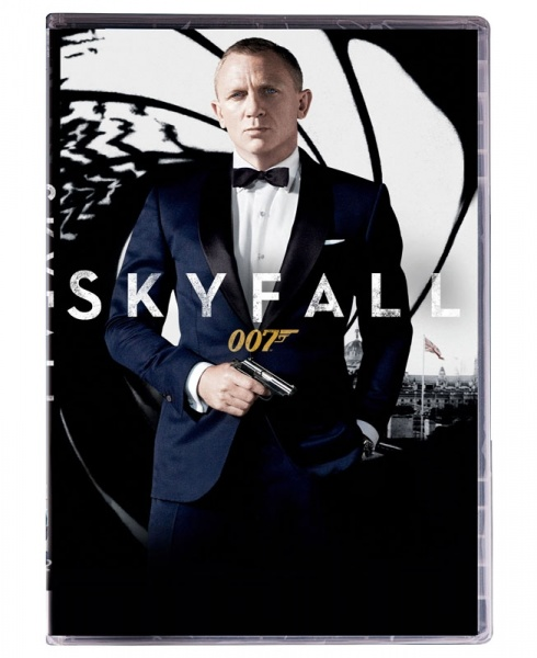007 - skyfall - dvd