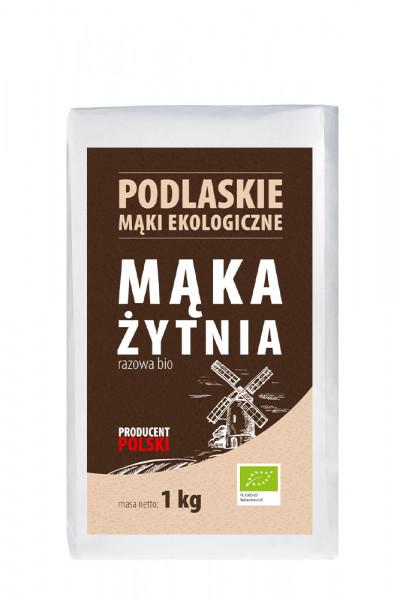 Mąka biolife żytnia razowa bio typ 2000