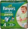 Pieluchomajtki Pampers Active Boy Pants Pieluszki, rozmiar 4, 7-14kg