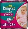 Pieluhomajtki Pampers Active Girl Pants Pieluszki, rozmiar 4, 7-14kg