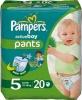 Pieluchomajtki Pampers Active Boy Pants Pieluszki, rozmiar 5, 11-18kg