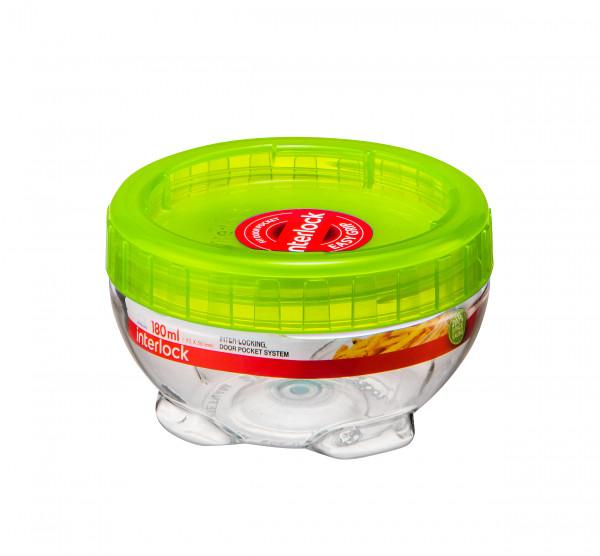 Pojemnik m.plastikowy okrągły 180 ml