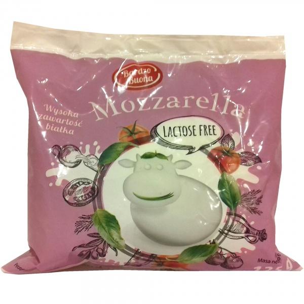 Ser mozzarella bez laktozy