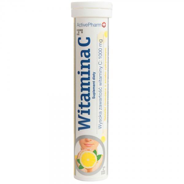 Tabletki musujące witamina c 1000mg