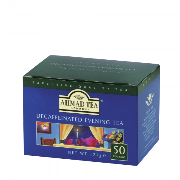 Herbata Ahmad Tea Evening Tea Decaffeinated