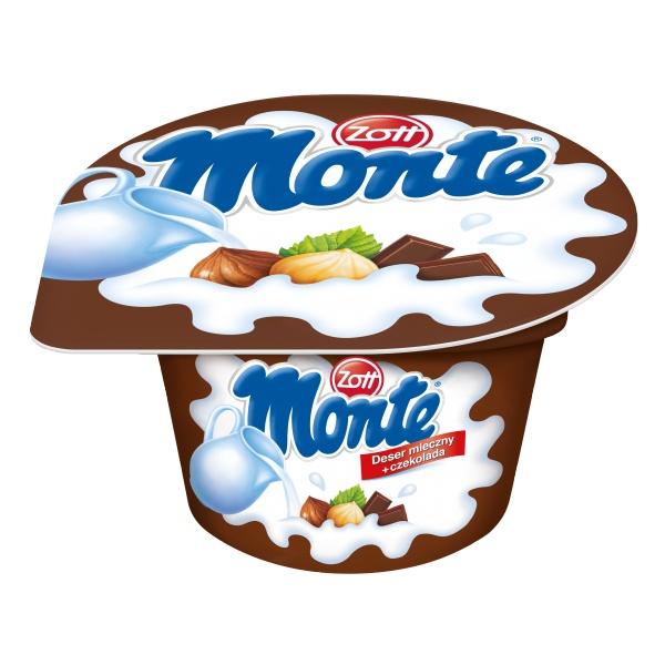 Deser Monte z czekoladą i orzechami Zott