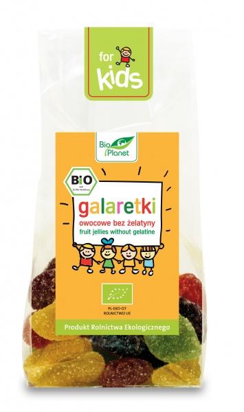 Galaretki owocowe bez Żelatyny Bio Planet