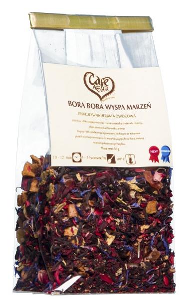 Herbata owocowa wyspy bora bora