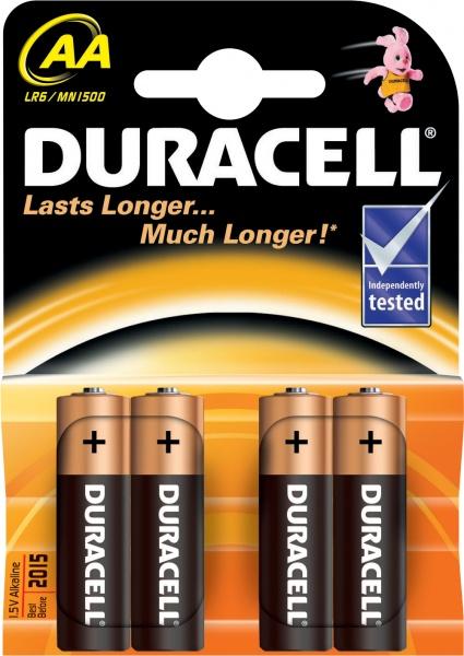BATERIA ALKALICZNA DURACELL BASIC LR 6 / AA / MN1500 K4