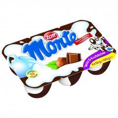 Deser Monte z czekoladą i orzechami 6*55g Zott